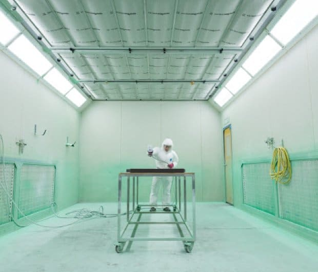 controlled environment room
